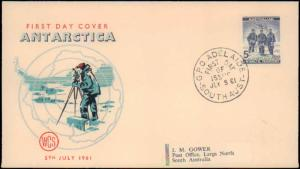 Australian Antarctic Territory, First Day Cover