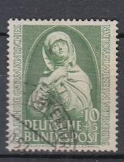 Germany - 1952 10+5pf Madonna  Mi# 151  (9213)
