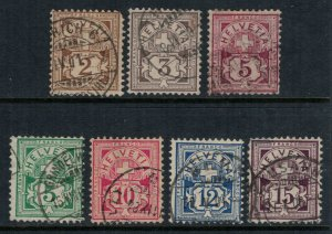 Switzerland #69-74,6  CV $24.90