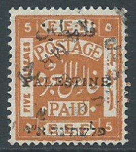 Palestine, Sc #19c, 5m Used