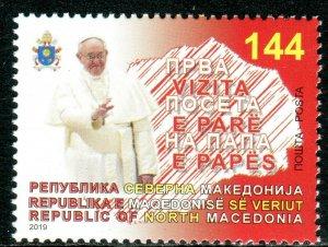 334 - MACEDONIA 2019 - First Pope Visit to the Macedonia - MNH Set