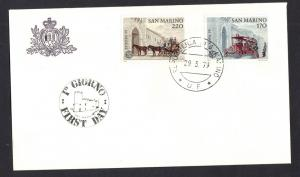 San Marino  1982  FDC Savings Bank