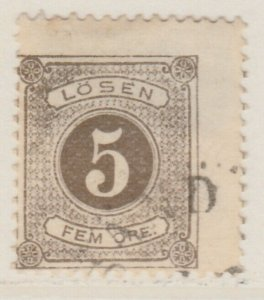 Sweden Postage Due 1874-86 5o Perf 13 Fine Used A13P19F142