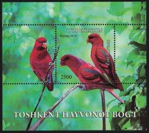 2016 Uzbekistan 1169/B83 Birds