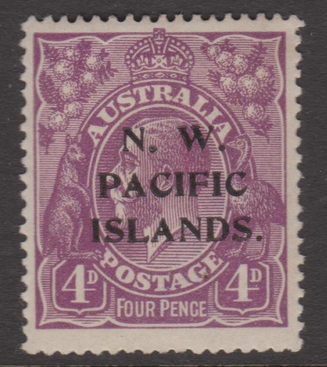 North West Pacific Islands Sc#47 MLH