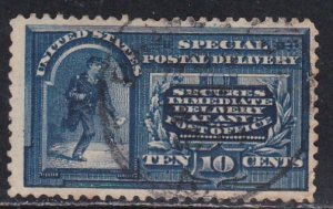 United States. # E5, Special Delivery, Used, 1/3 Cat.
