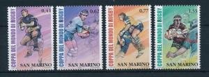 [24841] San Marino 2003 Sports Rugby World Cup Australia MNH