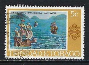 TRINIDAD & TOBAGO 262 VFU COLUMBUS H1246-10