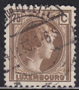 Luxembourg 175 Hinged 1927 Grand Dutchess Charlotte