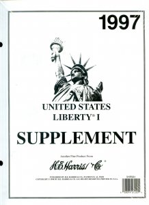 Lot of 6 U.S. H.E. Harris Liberty I Supplements 1995 1997-99 2001 2005 #140071 X
