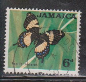 JAMAICA Scott # 223 Used - Butterfly