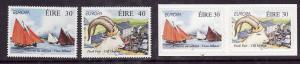 Ireland-Sc#1124-7-unused NH set-Europa-Festivals-Self-adhesives-1998-
