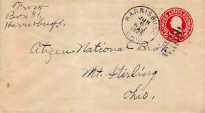 United States, Postal Stationery, Ohio
