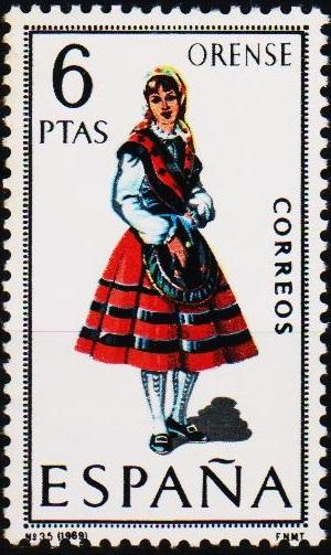 Spain. 1969 6p S.G.1966 Unmounted Mint