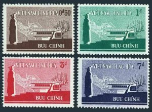 Viet Nam South 266-269, MNH. Mi 343-346. Higher education 1965. Student, Map.