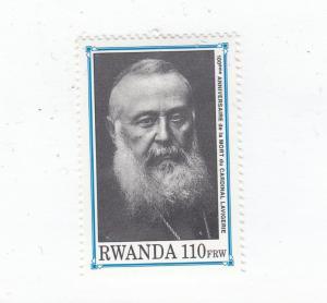RWANDA # 137d VF-MNH CAT VALUE $40