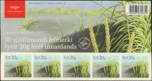 Iceland #1115, Complete Set, Sheet of 50, 2007, Never Hinged