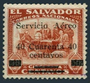 Salvador C5,MNH.Michel 444. Air Post 1929.Columbus at La Rabida.