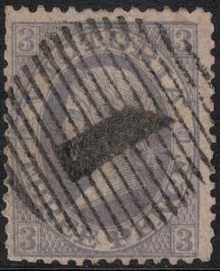 Victoria 1863-1867 SC 83 Used CV $100