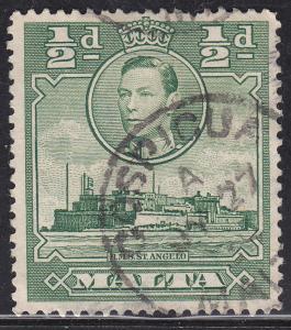 Malta 192 HMS Fort St. Angelo 1938