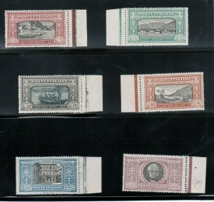 Italy #165 - #170 Very Fine Never Hinged Set