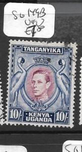 KENYA AND  UGANDA  (P0609B) KGVI 10/- SG 149B   VFU