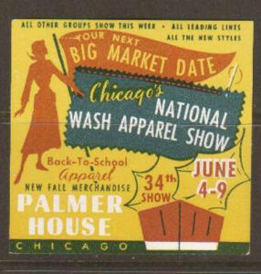 National Wash Apparel Show Label