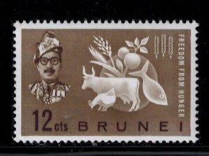 Brunei 100 MNH VF