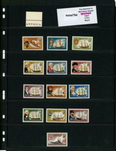 PKStamps - ssaa794 - Antigua - Mini Lot - Check Out Image