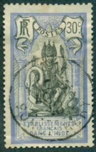 French India #38  Used  Scott $4.00