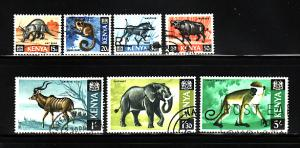 Kenya 22-24, 26, 29-30, 33 U Animals