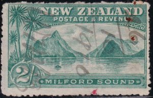 New Zealand 1898 SC 82 Used