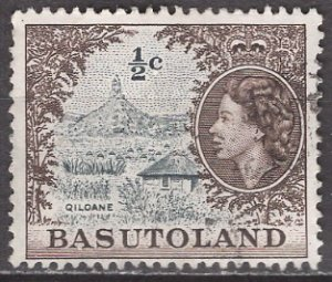 Basutoland; 1962: Sc. # 72; O/Used Single Stamp