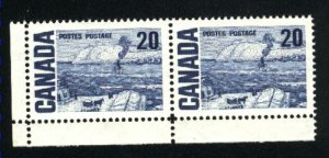 Can #464   Pair   M NH VF 1967 PD