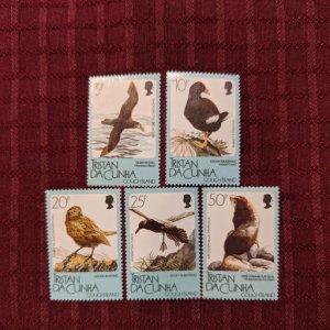 Tristan da Cunha 455-9 XFNH complete set, CV $8