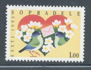 Estonia Sc 237 1993 Friendship stamp mint NH