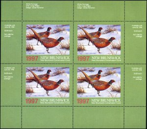 1997 New Brunswick Pheasant Wildlife by Craig Phillips