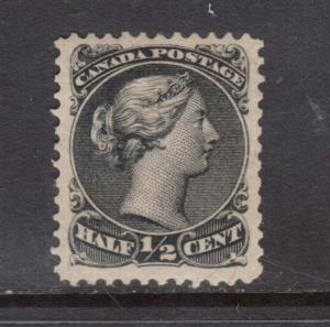 Canada #21iv VF Mint Spur Variety **With Certificate**
