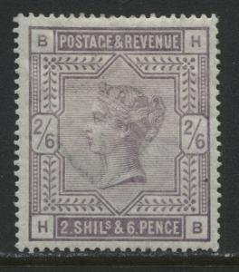 GB QV 1883 2/6d lilac mint o.g.