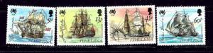 St Helena 493-96 MNH 1988 Australia Bicentennial (Sailing Ships)