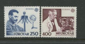 STAMP STATION PERTH Faroe Is. #95-96 Pictorial Definitive Issue MNH 1983 CV$2.00