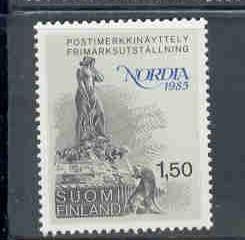 Finland Sc 705 1985 Mermaid Nordia '85 stamp mint NH