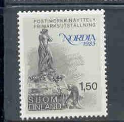 Finland Sc 705 1985 Mermaid Nordia '85 stamp mint NH