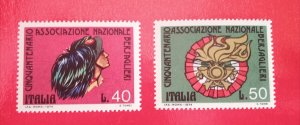 Italy 1974  National Bersaglieri Association set MNH**