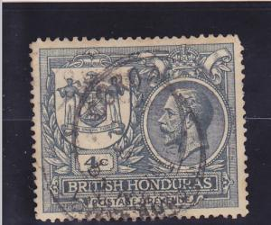 British Honduras  Scott#  90  Used