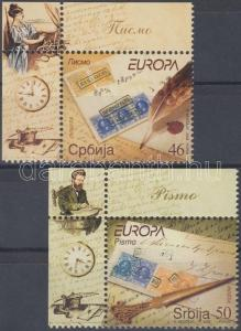 Serbia stamp Europa CEPT corner set MNH 2008 Mi 251-252 WS42898