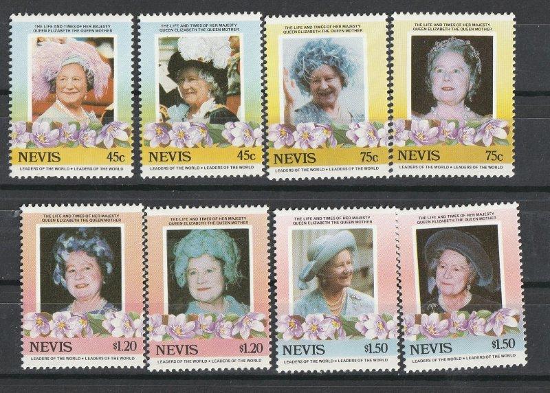 Nevis MNH 427-30 Queen Mother