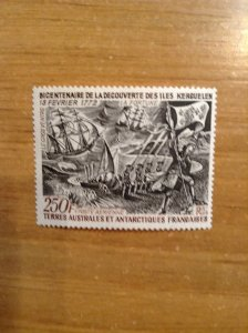 French Southern & Antarctic Territory Sc C27 NH