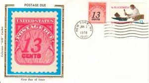 United States Scott J103, 1718 Unaddressed.