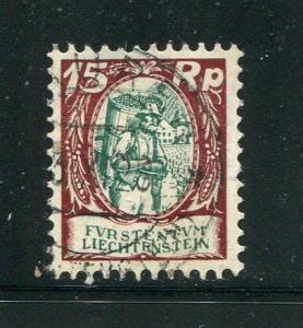 Liechtenstein #77 Used